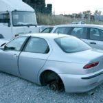 Quelles sont les démarches pour se débarrasser d'une épave de voiture